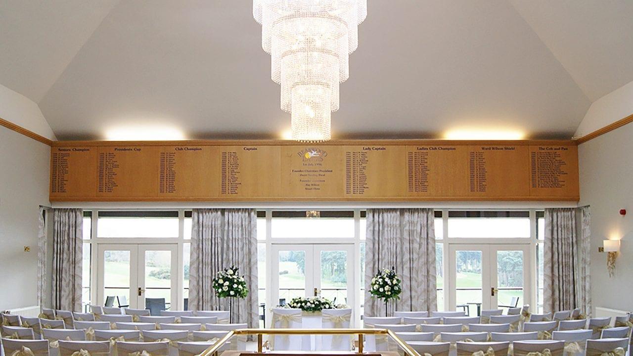 Wedding Ceremony Room