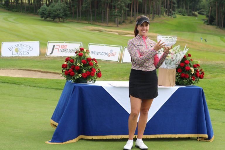 Georgia Hall Winner Of The Rose Ladies Series At Bearwood Lakes 2020