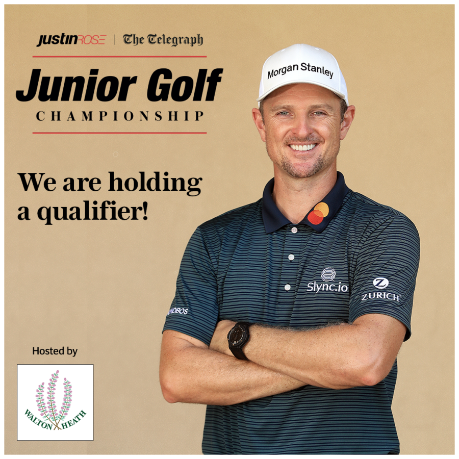 Junior Open Is A Qualiryer For Justin Rose Junior Golf Champ